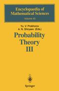 Probability Theory III