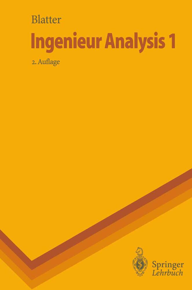 Ingenieur Analysis 1 als Buch von Christian Bla...