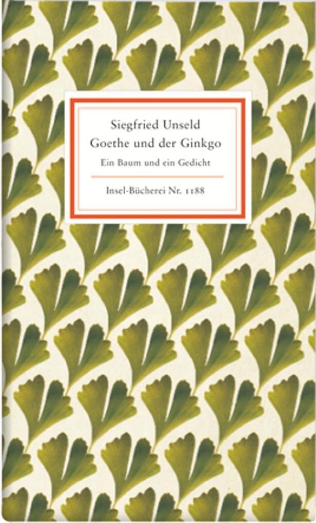 Goethe und der Ginkgo als Buch