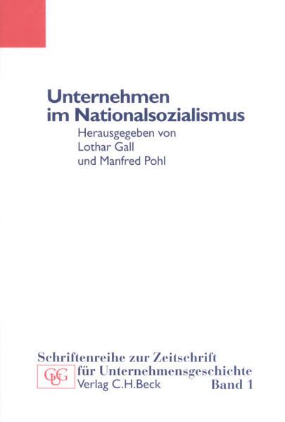 Unternehmen im Nationalsozialismus als Buch