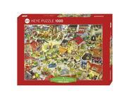 Dragontown Puzzle 1000 Teile