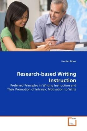 Research-based Writing Instruction als Buch von...