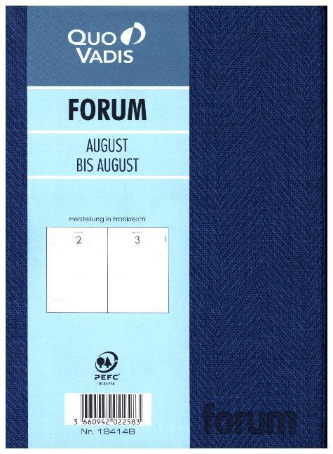Schülerkalender 2019/2020 Forum Tweed als Kalender