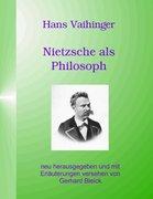 Nietzsche als Philosoph