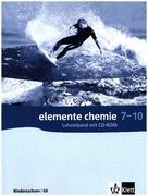 Elemente Chemie - Ausgabe Niedersachsen G8. Lehrerband 7. - 10. Klasse