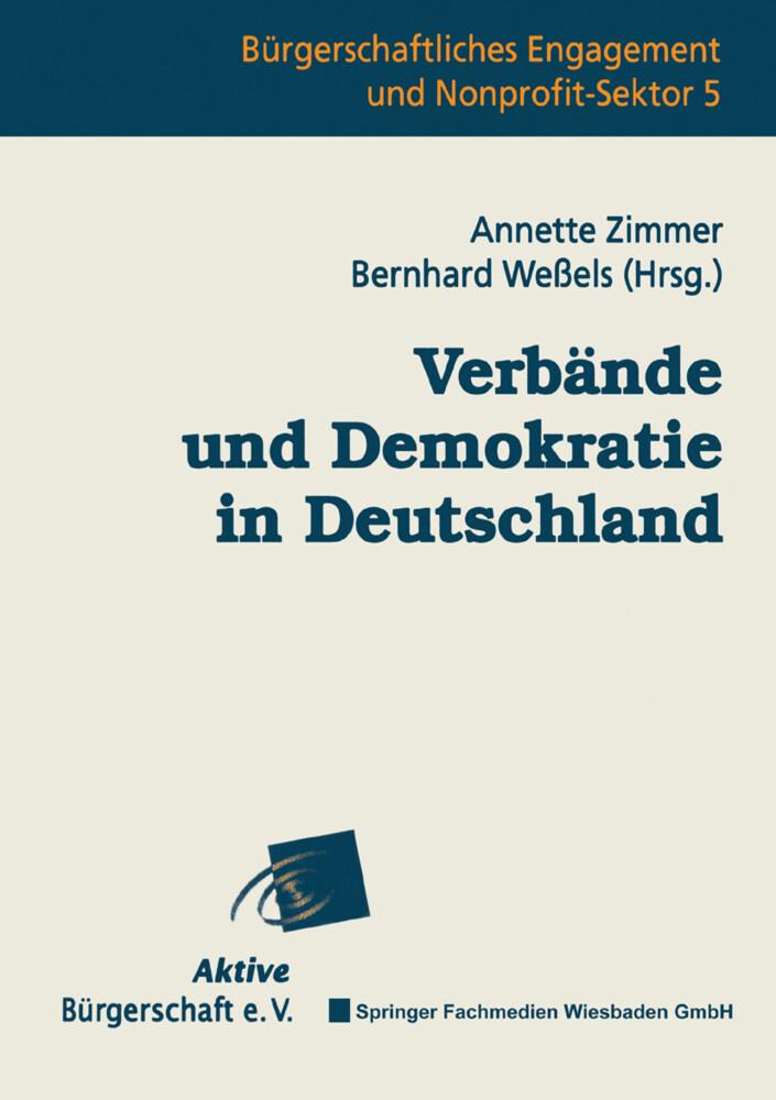 Verbände und Demokratie in Deutschland als Buch