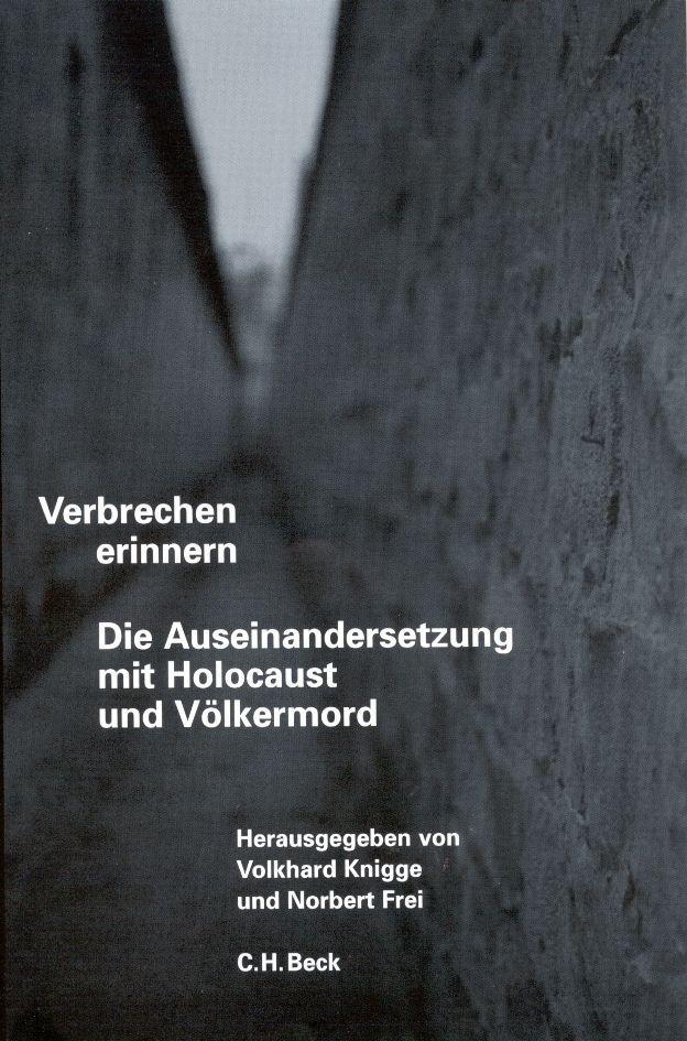 Verbrechen erinnern als Buch