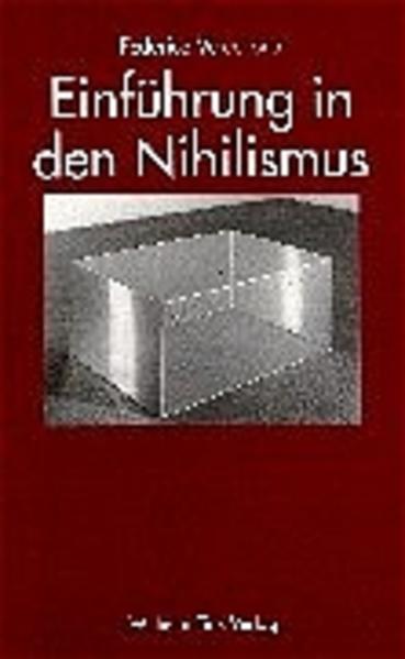 Einführung in den Nihilismus als Buch