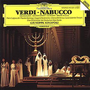 Nabucco (QS) als CD