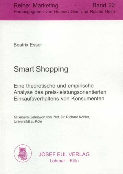 Smart Shopping als Buch von Beatrix Esser