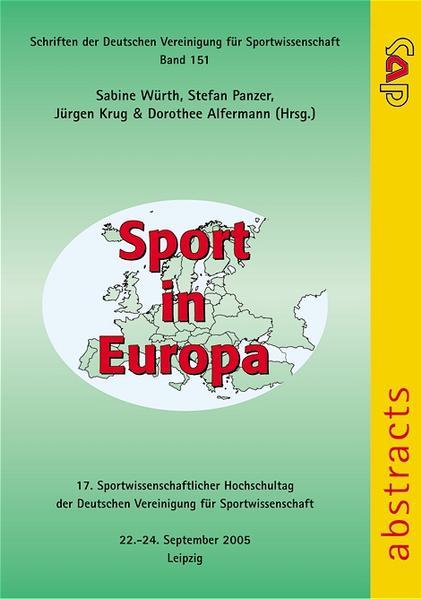 Sport in Europa als Buch von