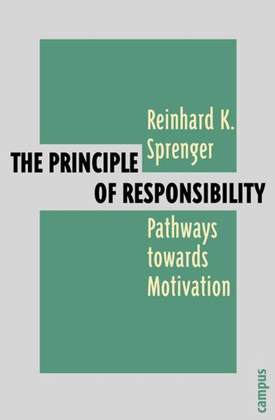 The Principle of Responsibility als Buch von Re...