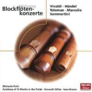 VIRTUOSE BLOCKFLÖTENKONZERTE als CD