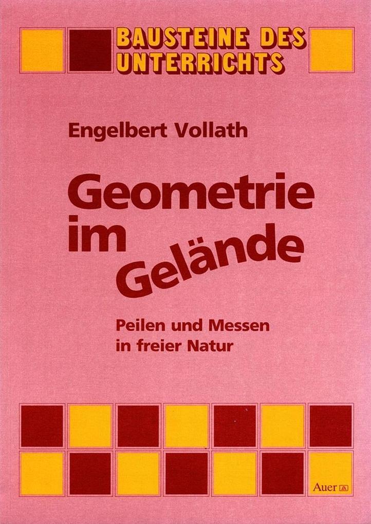 Geometrie im Gelände als Buch