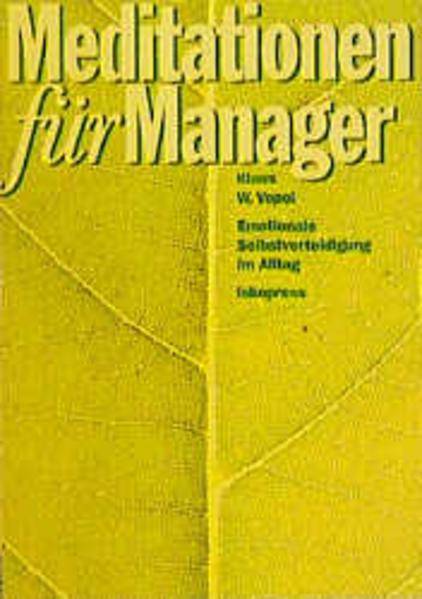 Meditationen für Manager als Buch