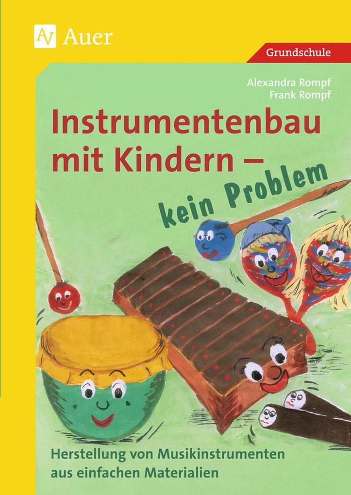 Instrumentenbau mit Kindern - kein Problem als Buch