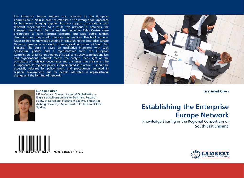 Establishing the Enterprise Europe Network als ...
