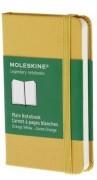 Moleskine Notebook XS - orangegelb