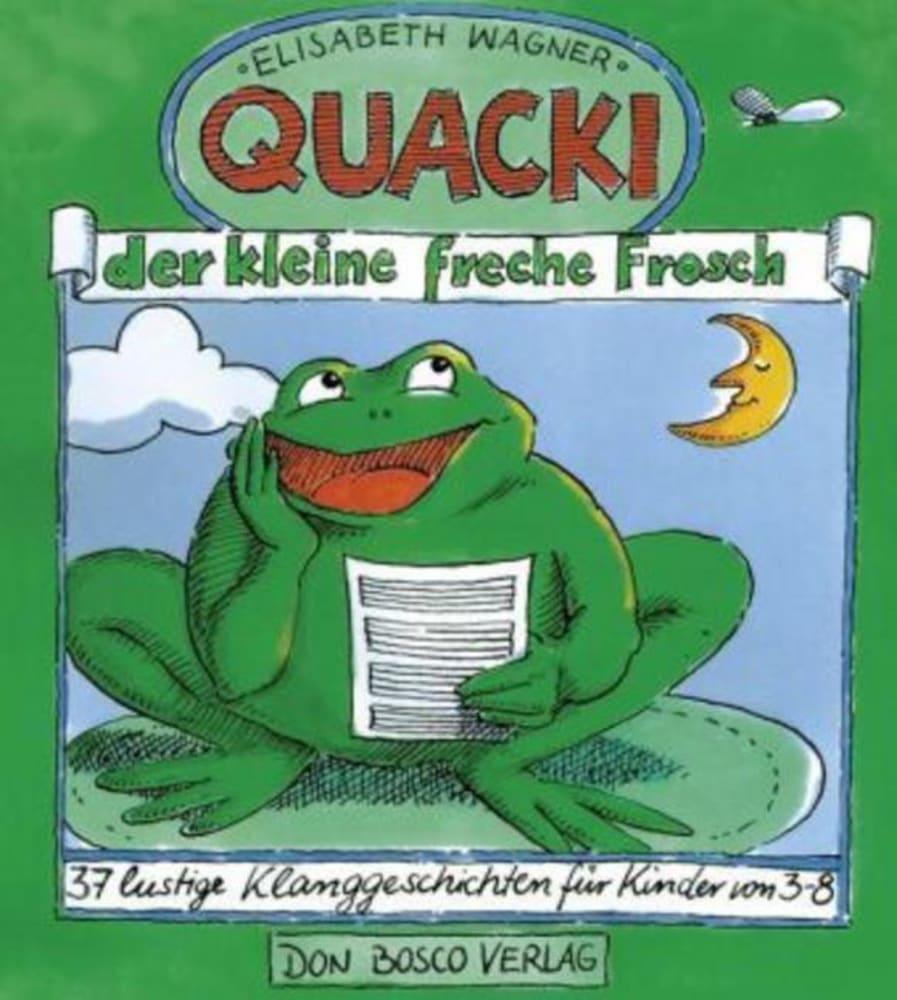 Quacki, der kleine, freche Frosch als Buch