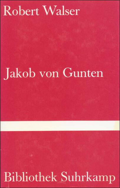Jakob von Gunten als Buch