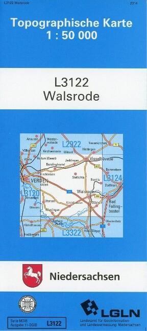 Walsrode 1 : 50 000. (TK 3122/N) als Buch