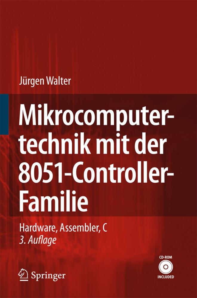 Mikrocomputertechnik mit der 8051-Controller-Familie als Buch