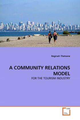 A COMMUNITY RELATIONS MODEL als Buch von Regina...