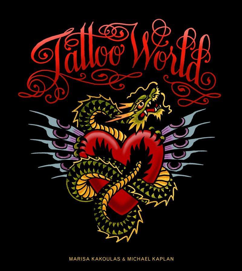 Tattoo World als Buch von Marisa Kakoulas