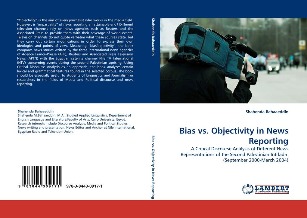 Bias vs. Objectivity in News Reporting als Buch...