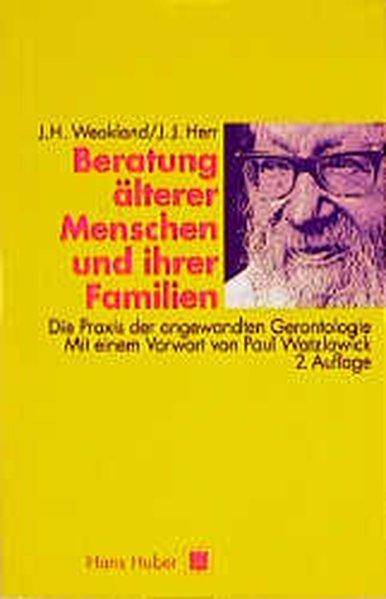 Beratung älterer Menschen und ihrer Familien als Buch