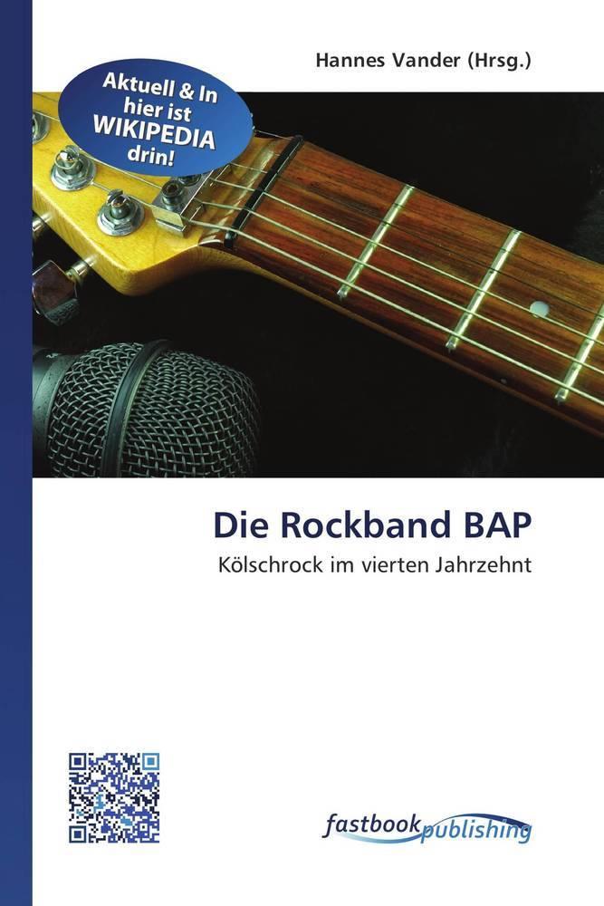 Die Rockband BAP als Buch von