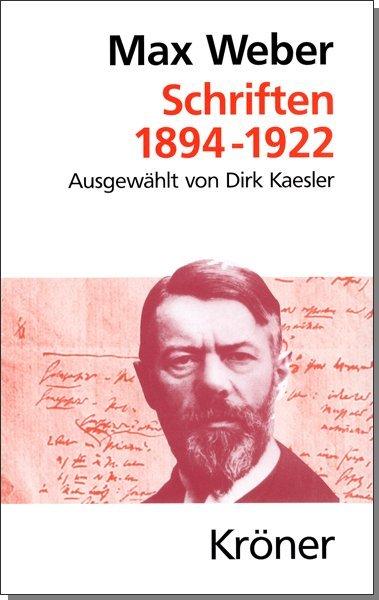 Schriften 1894 - 1922 als Buch