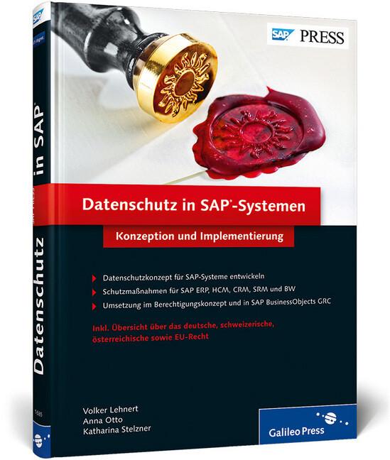 Datenschutz in SAP-Systemen als Buch von Volker...