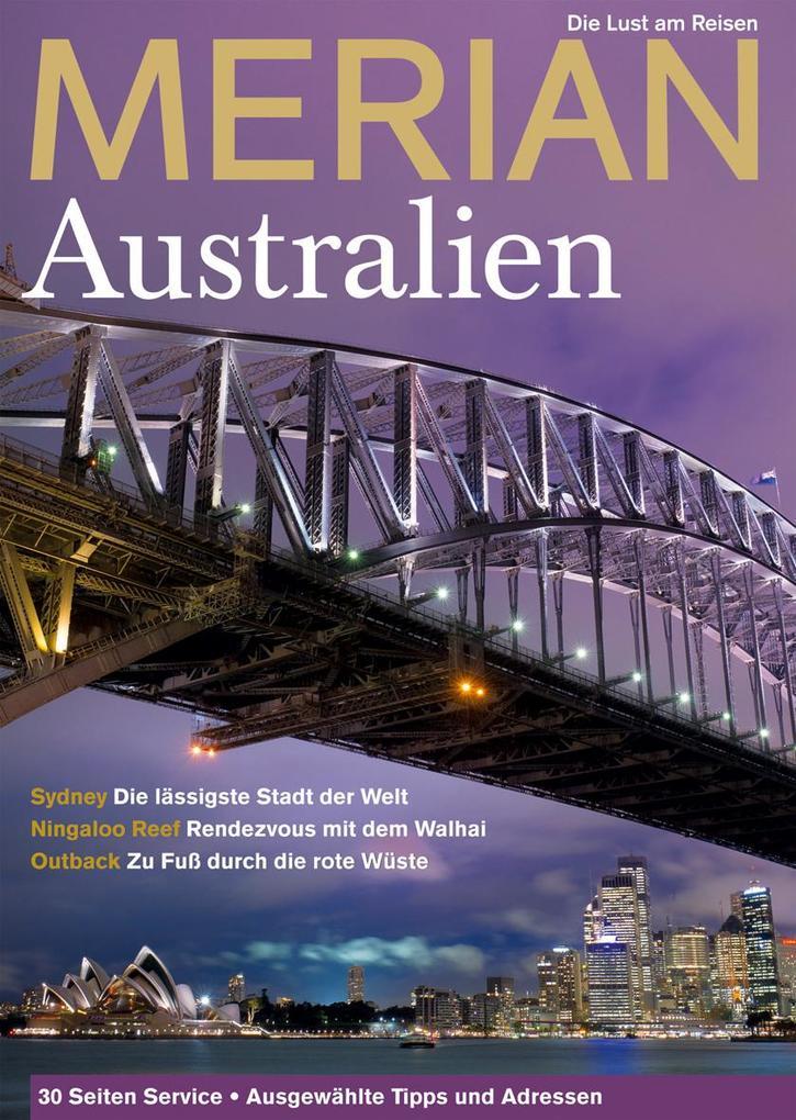 MERIAN Australien als Buch von