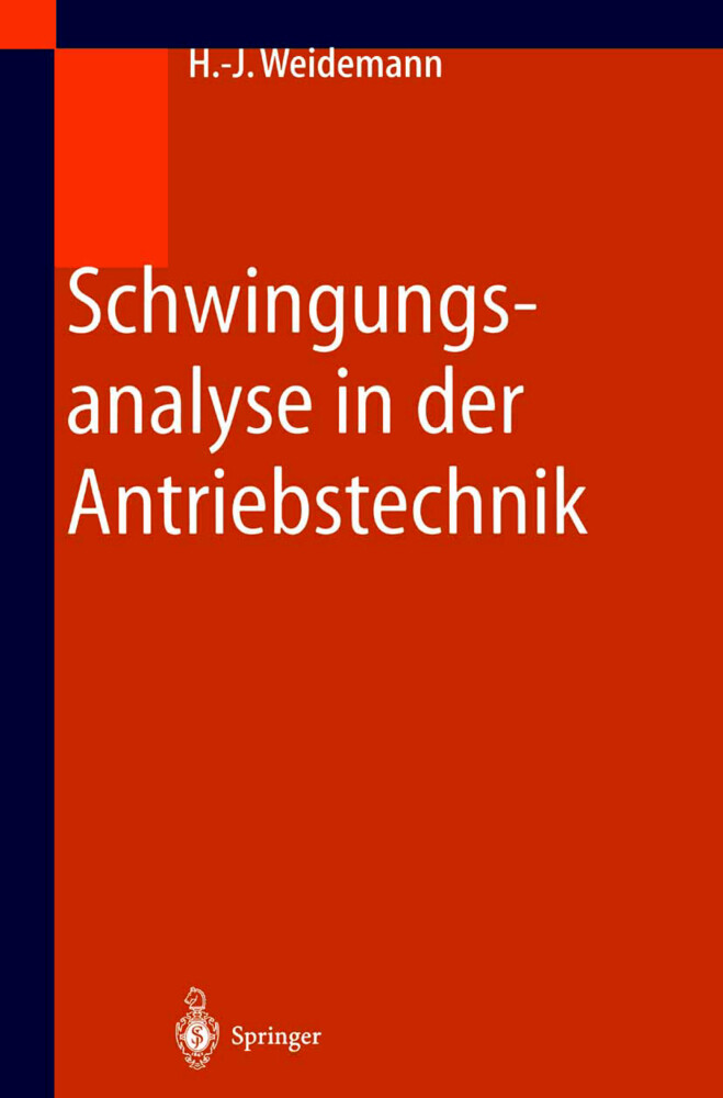 Schwingungsanalyse in der Antriebstechnik als Buch