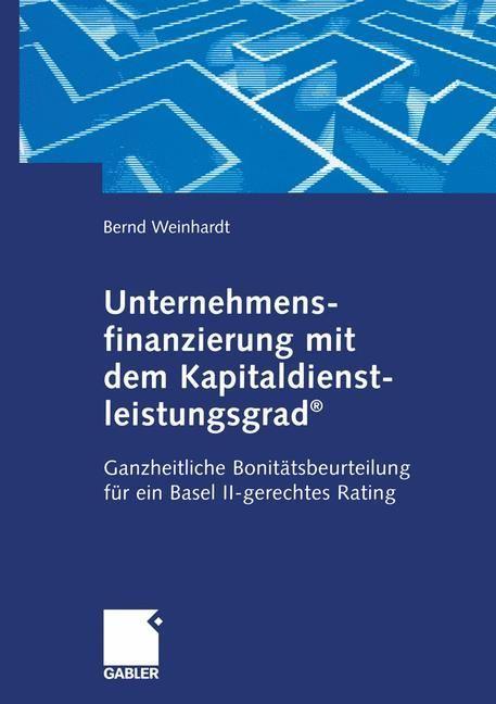 Bonitätskriterium Kapitaldienstleistungsgrad als Buch