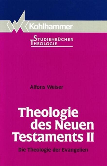 Theologie des Neuen Testaments II als Buch