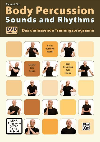 Body Percussion Sounds and Rhythms als Buch von...
