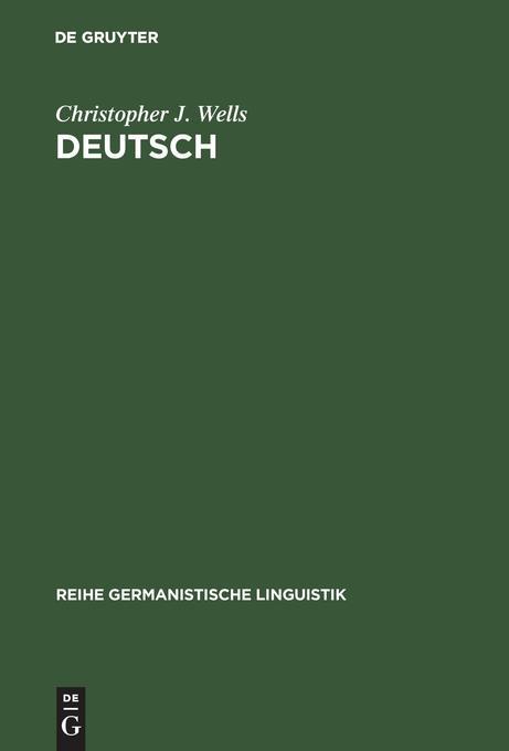 Deutsch: eine Sprachgeschichte bis 1945 als Buch