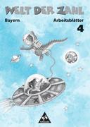 Welt der Zahl 4. Arbeitsheft. Bayern. Euro-Ausgabe