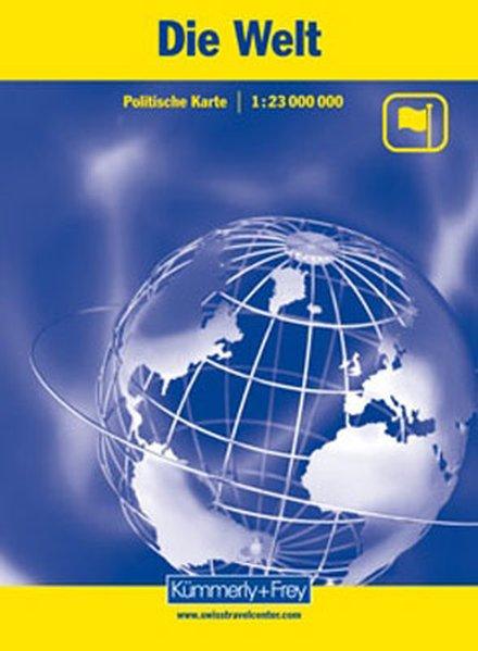 KuF Die Welt. Politische Karte. 1 : 23 000 000 als Buch