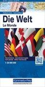 KuF Die Welt. Politische Karte 1 : 30 000 000