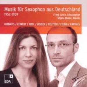 Musik fur Saxophon aus Deutschland 1952-1969