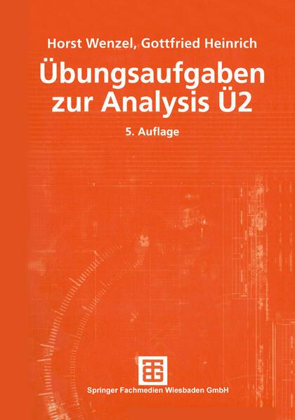 Übungsaufgaben zur Analysis Ü 2 als Buch