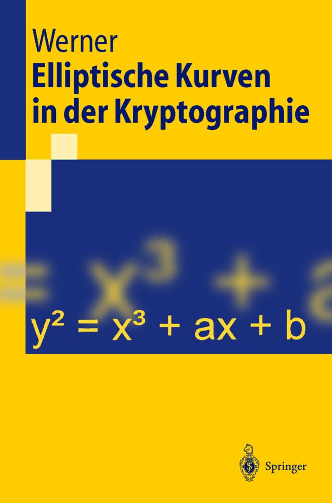 Elliptische Kurven in der Kryptographie als Buch