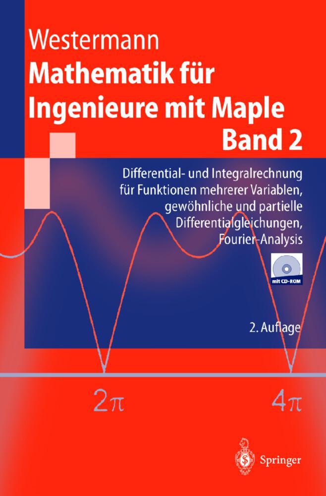 Mathematik für Ingenieure mit Maple als Buch