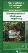 Scharmützelsee / Storkower Umgebung 1 : 25 000