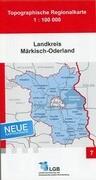 Landkreis Märkisch-Oderland 1 : 100 000
