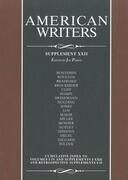 American Writers: Supplement XXII