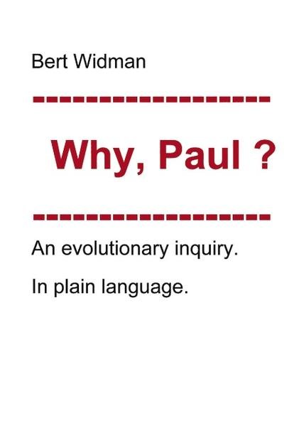 Why, Paul? als Buch